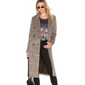 Revolve Plaid Coat
